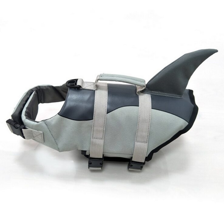 shark Life Vest Jacket For Dogs